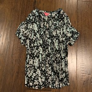 Sunny Leigh Top Black and White Size L